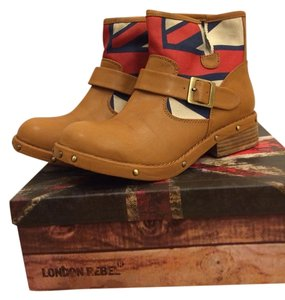 London Rebel Brown Boots