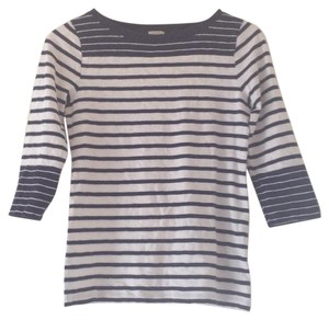 J.Crew T Shirt Navy and White