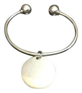 Other Classic Open End Bangle Sterling Silver Bracelet