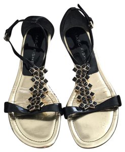 Marc Fisher Black Sandals