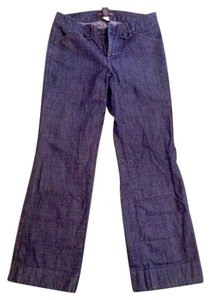Banana Republic Cotton Buttons Trouser/Wide Leg Jeans