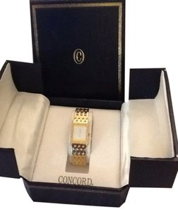Concord Solid Gold Watch
