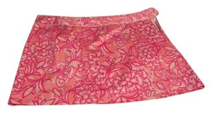 Lilly Pulitzer Skirt Pink/White