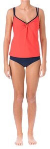 Mainstream New $78 Mainstream Coral O-Ring Full Coverage Tankini Swimsuit Set 12