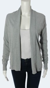 Banana Republic Open Drape Silver New Blue Cardigan