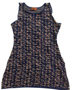 Missoni Top Navy multiple