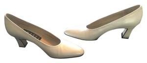 Amalfi Metallic Cream Pumps