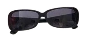Cartier Cartier Rectangular Black Sunglasses Shades
