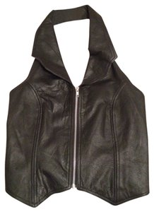Hot Leathers Black Halter Top