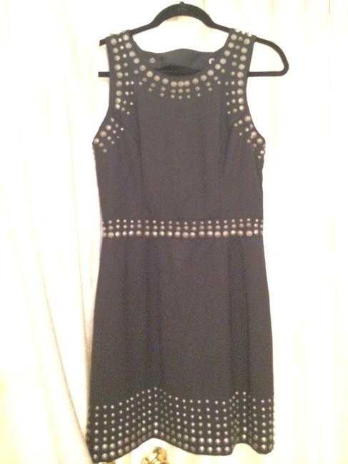 What Goes Around Comes Around Studded Backless Sexy Dress