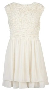 Ted Baker short dress white Floral Textured on Tradesy