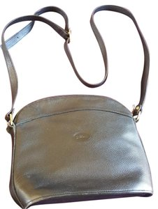 Longchamp Leather Pre-owned Cross Body Bag