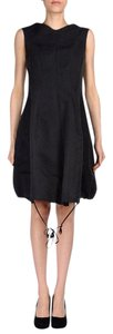 Hache short dress Dark Grey Made In Italy Italy Bubble Voluminous on Tradesy