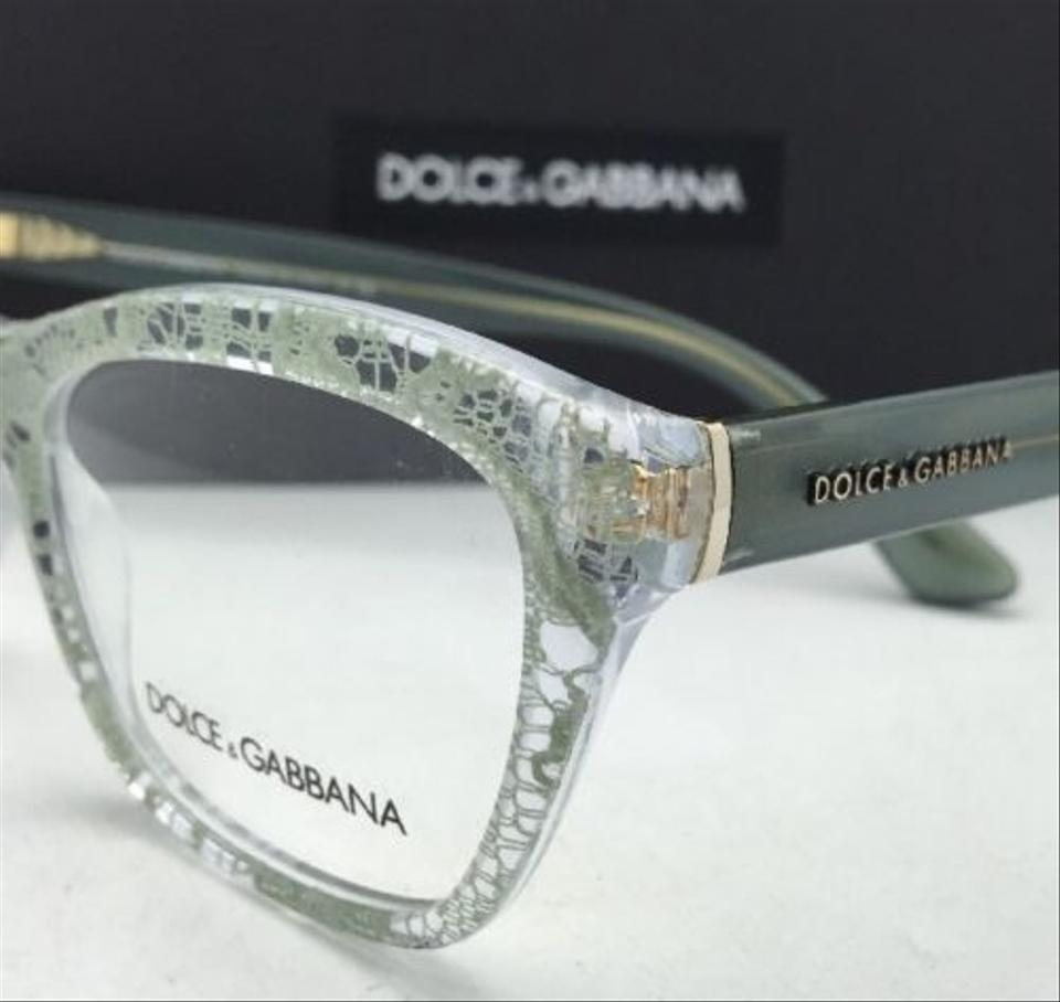 Dolce&Gabbana Dg 3198 2855 54-18 Clear Frame W/Green Lace New Rx ...