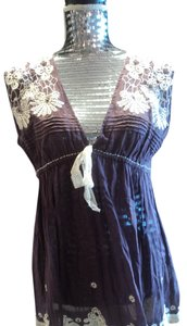 Matty M Lace Top Purple