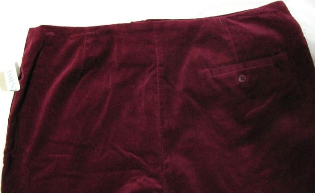 Field Gear Beet Corduroy Size 14 New With Tags Inseam 29 L Women 29 Nwt Dark Spandex Pocket Long Nwt Ladies Large Wine Burgundy Straight Pants Red