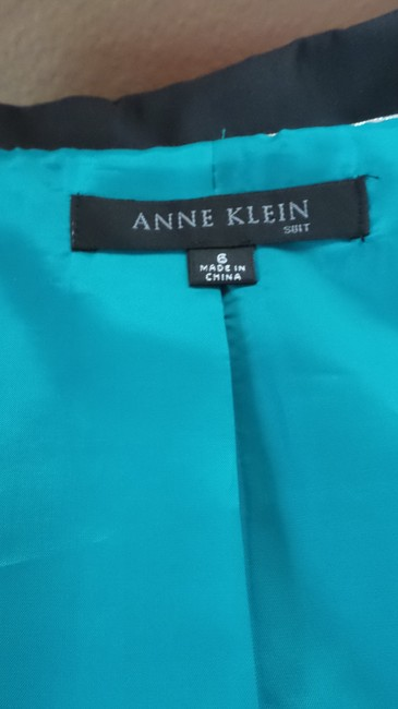Anne Klein Anne Klein Navy Career Suit