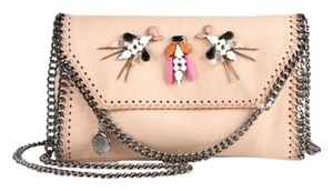 Stella McCartney Falabella Embellished Clutch Tote in Powder