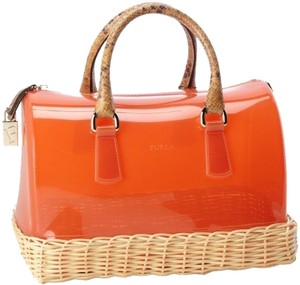 Furla Satchel in Orange