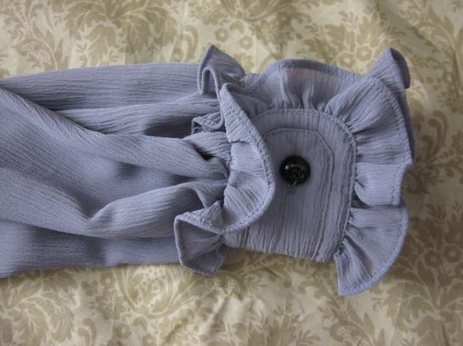 ALICE by Temperley Victorian Gothic Ruffle Top Cloak Gray