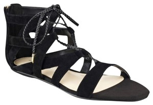 Marc Fisher Gladiator Blac Sandals