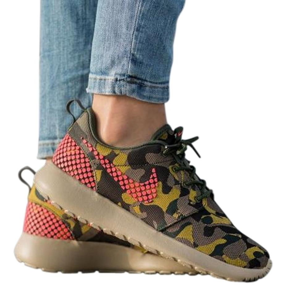 cdabeb27b0ab2 Nike Multi-color Women s Roshe One Premium Plus Casual Camouflage ...