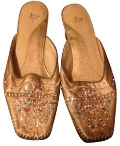 LifeStride Golden Brown Sandals