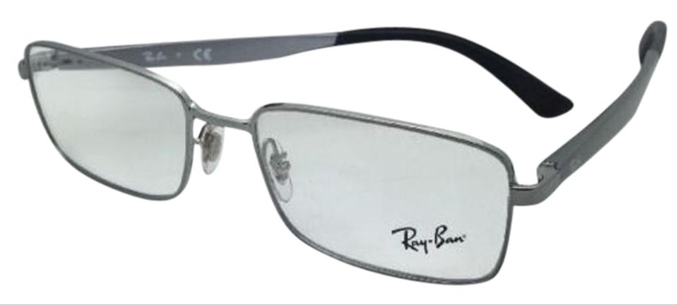 6a9335f520 Ray-Ban Rb 6333 2502 54-17 Gunmetal Rectangular Frames New Rx-able ...