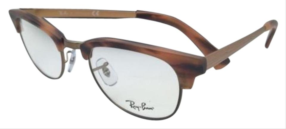 a7779a73837 Ray-Ban Rb 5294 5429 49-21 Matte Havana Frames W  Clear New Rx-able ...