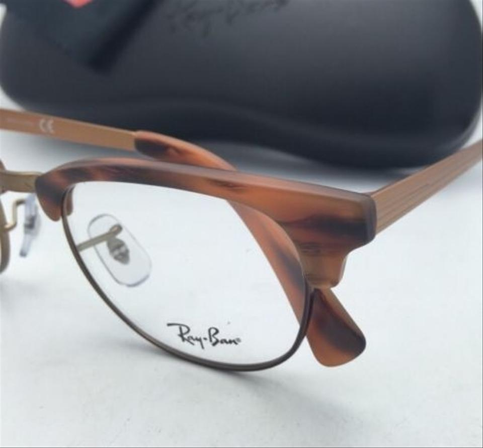 Ray-Ban Rb 5294 5429 49-21 Matte Havana Frames W/ Clear New Rx-able ...