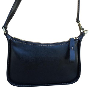 Nine West Contrast Stitching Saddle Mini Small Wristlet Shoulder Bag