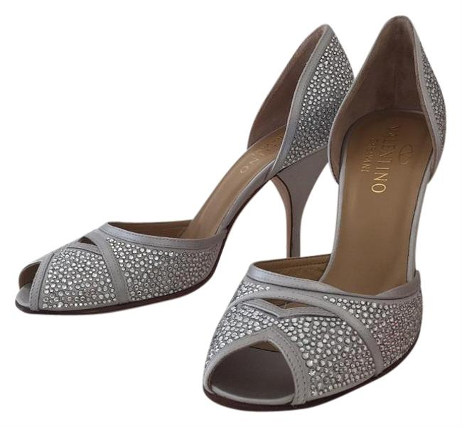 Item - Silver Formal Shoes Size US 7.5 Regular (M, B)