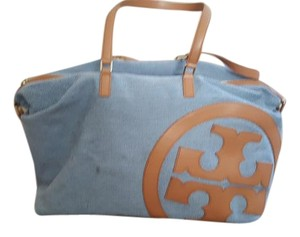 Tory Burch Navy/ Vachetta Travel Bag