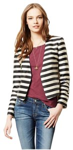 Anthropologie Black and white Blazer
