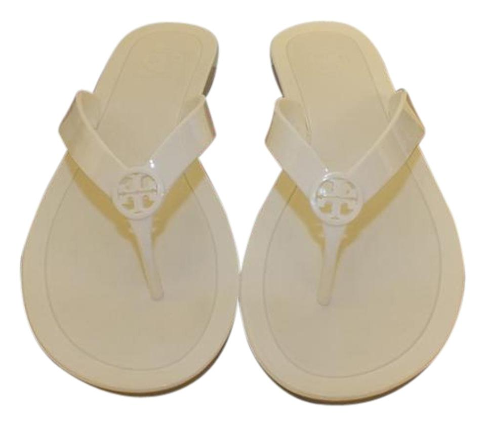 Tory Burch Ivory/110 Color: Logo Jelly Thong-tpu Style#12158567 Color: Ivory/110 Sandals 9add6f