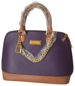 Joy & IMAN Satchel in Majestic Purple