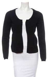 Marni Designer Italian Cashmere Scoop Neck Open Front Sweater Barneys New York Prada Lanvin Vince Joie Cardigan