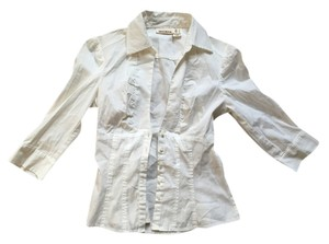 DKNY Button Down Shirt Button Down Shirt White