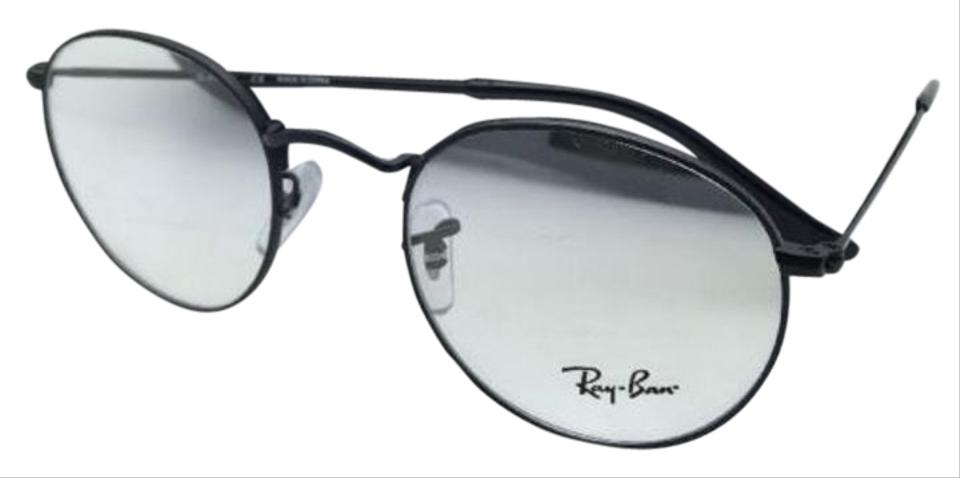 Ray-Ban Rb 3447v 2503 50-21 Matte Black Round Frames New Eyeglasses ...
