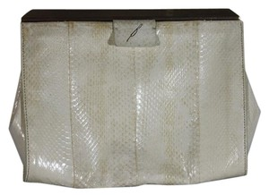Brian Atwood Watersnake White Clutch