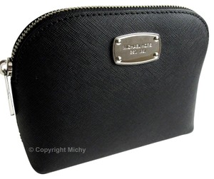 Michael Kors Michael Kors Cindy Saffiano Leather Cosmetic Case Travel Pouch