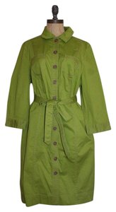 Boden short dress GREEN Belted on Tradesy