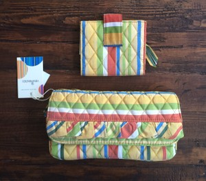 Vera Bradley Silk Wallet Multi Clutch