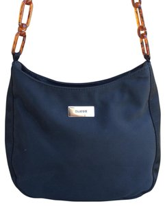 Guess Chain Link Nylon Shoulder Bag