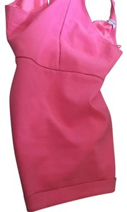 Elizabeth James short dress Hot pink on Tradesy
