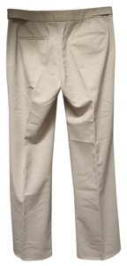 Theory Adjustable Waist Cream Beige Pants