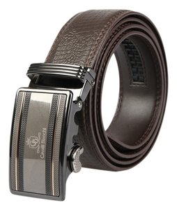 "Cavalli Bianchi Cavalli Bianchi Men's Fashion Belt Made of Genuine Leather with Unique Auto Lock Buckle#2 (40-42"" L)"