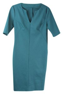 Diane von Furstenberg Dvf Work Blue Work Dvf Dress