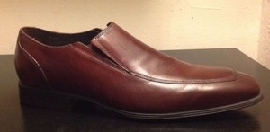 Cole Haan Nike Air Jefferson Ii Mens Dark Brown Leather Loafer Dress Shoes