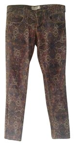 Free People Ankle Bohemian Skinny Jeans-Distressed